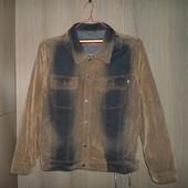 Куртка пиджак джинсовый размер XL