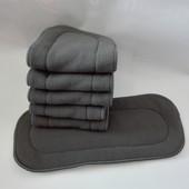 Вкладыш 5- слойный в многоразовый подгузник/Бамбук вугільний 5-шаровий