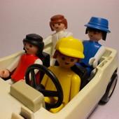машина - кабриолет с человечками (Playmobil)