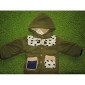 Куртка - пальто  для мальчика теплая