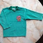 Велюровый свитерок размер 80 см (можно до 2 лет)