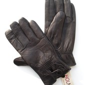 Размеры 8½ до 11½ Мужские перчатки из оленьей кожи на утеплителе