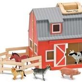 Ферма деревянная с животными складная, Melissa&Doug (Md3700)