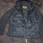 мужская  куртка-жилетка со съемным капюшоном р-р  М