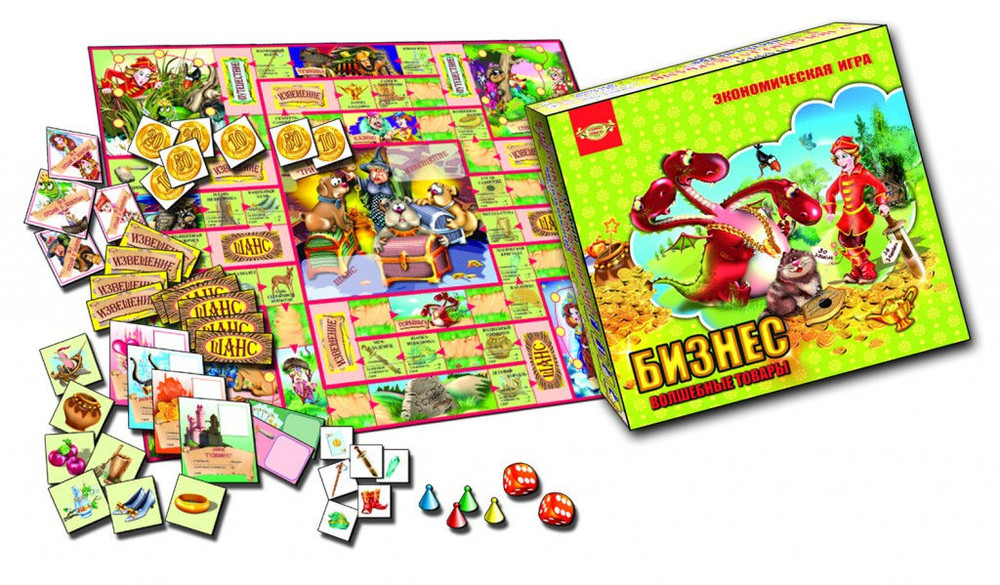 Настольная игра бизнес волшебные товары монополия фото №1