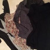 Платье, туники , рубашка! р. М-L Цена за все!