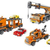 Конструктор транспорт 3в1 1054 деталей Ausini 25118 аналог лего