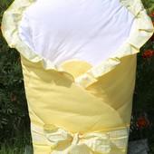 Конверт-одеяло для детей на выписку из роддома 100 % хлопок Milpol