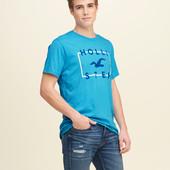 Новая футболка Hollister, р. М