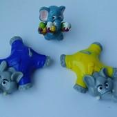 Киндер сюрприз игрушки фигурки
