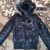 Куртка пуховик зима 42р