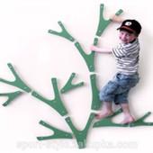 Детский скалодром Невероятные веточки, 1,6*1,3м, Бесплатная доставка!
