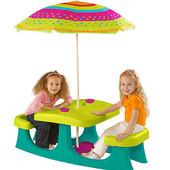 +ВидеоОбзор! Израиль! Стол для пикника Patio Center, артикул 17192433  2-6 л.