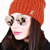 Теплая шапочка!!! Огромный выбор цветов! Супер цена!