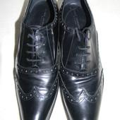Мужские кожаные туфли Marie Christine Milano р.39
