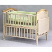 Кроватка Geoby с люлькой и балдахином новая