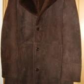 Мужская дубленка из натурального меха, размер XL. Югославия.