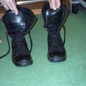 Чоботи-ботінки на шнурках Вага-Бонд