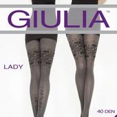 Теплые зимние колготки из микрофибры ТМ Giulia Lady 40