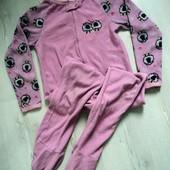 Фирменный человечек флисовый пижама на 11-12 лет и старше