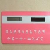 Калькулятор-кредитка - удобная вещь для ношения в кошельке ♥