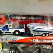 Набор спецслужбы с лодкой технопарк