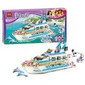 Конструктор 10172 Bеla Friends, бела френдис, френдс, аналог Лего яхта корабль круизный лайнер