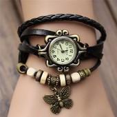 1-2 Наручные часы Бабочка/ Женские часы