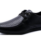 Туфли Falcon, р. 40-45, натур. кожа, перфорация, код kv-2879