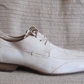 Великолепные формальные кожаные туфли Personal shoes. Италия. 41 1/2.