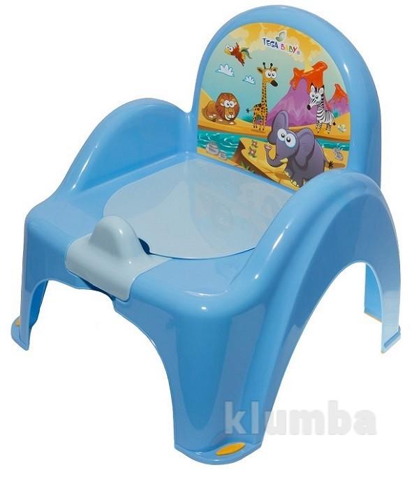 Горшок-кресло tega safari sf-010 blue фото №1