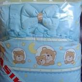 Комплект в детскую кроватку Asik