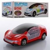 Машинка муз, 3D-свет.