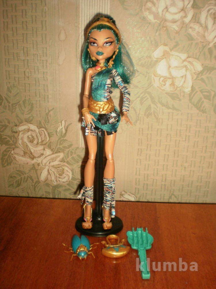 Кукла монстер хай monster high нефера с подарком фото №1