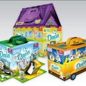 Dada подгузники  : мега паки , Dada Premium, Comfort fit, мега упаковки , салфетки разные!