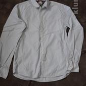 мужская рубашка р-р 40,коттон