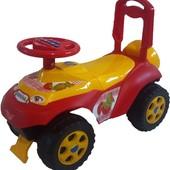 Машинка-каталка Автошка с немузыкальным рулем.Суперцена!Акция!