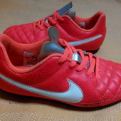 Бутсы копочки Nike Tiempo оригинал р.33-19.5см.