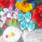 Резиночки для принцес из репсовых лент.Читайте обьявление