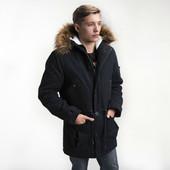 Подростковая зимняя куртка-парка 46, 48, 50, 52