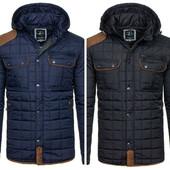 Весенняя стеганая мужская куртка