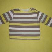 Реглан, футболка с дл. рукавом George р.68-74 (6-9 мес.)