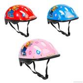 Детский защитный шлем Овшен код 466-121 для велосипедов роликов самокатов беговелов