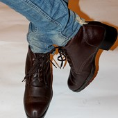 Ботинки 41 р кожа Gino Ventori зима Австралия оригинал
