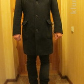 Красивое современное шерстяное фирменное пальто Tommy Hilfiger Seiler. сша. 52 р.