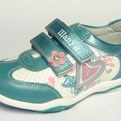 100-5625   Демисезонные Кроссовки для девочек  Ортопедическая спортивная обувь, Шалунишка