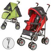 Детская прогулочная коляска трость M 2105-2 2 цвета