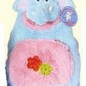 Рюкзак со слоником розовый 23 см