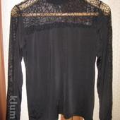 Скидка - водолазка женская новая (черная с отделкой в виде сетки) 60 грн