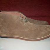 Кожаные ботинки чукка Frank Wright Strachan 44 р - Новые